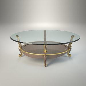 3d model table volpi