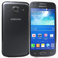 3d samsung galaxy core black