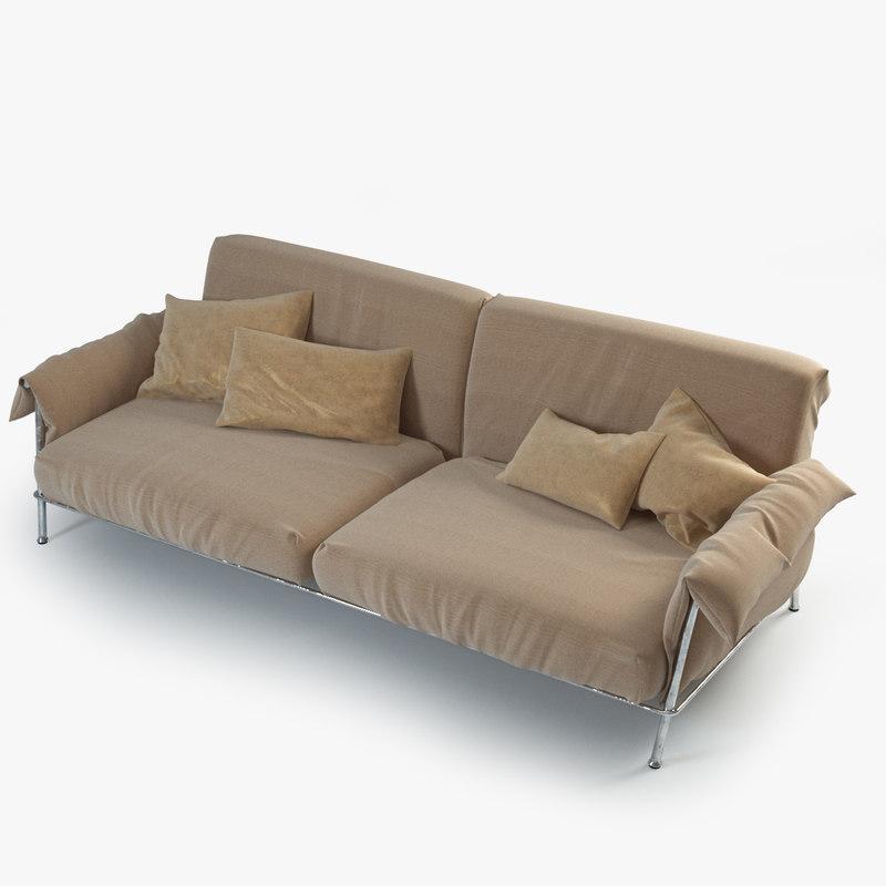 3d chat sofa model