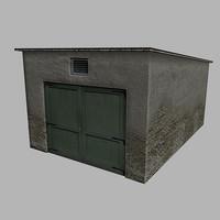 3d garage model