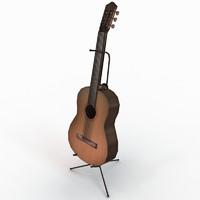 Guitar Low Poly