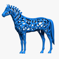 3d horse 2014