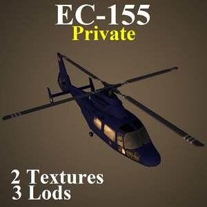 3d eurocopter private pvt helicopter