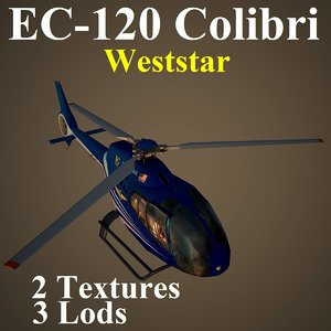 eurocopter waa helicopter 3d model