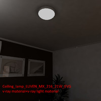 ceiling lamp luven mx max