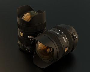 wide sigma lens 3d lwo