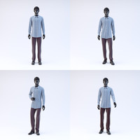 Showroom Mannequin Male Collection 01