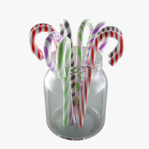 3ds max candy canes