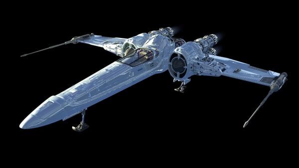 c4d space shipe