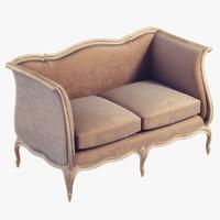 3ds classic sofa salda 184