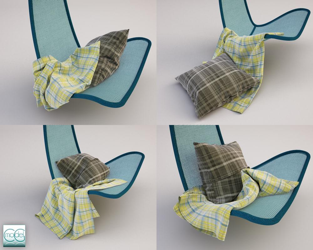 3ds max hanging chair svinga
