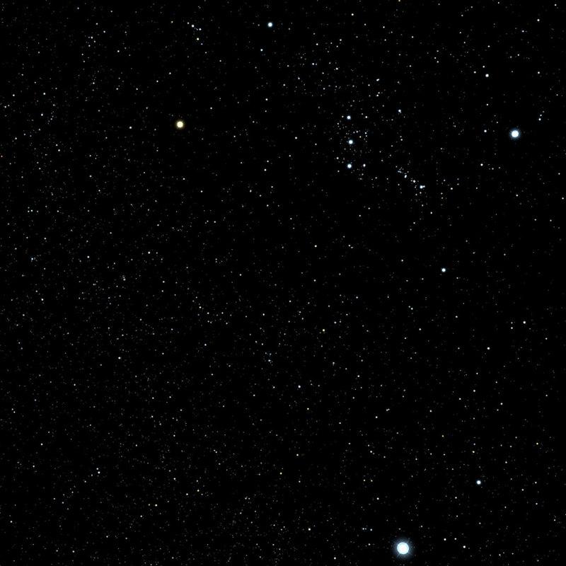3d star field model