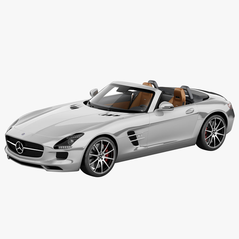 mercedes benz sls amg 3d model