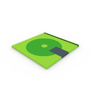3d model cd dvd