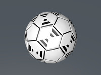 3d model unique ball