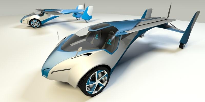 3d flying aeromobil 3 0 model