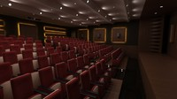 conference saloon 3d max