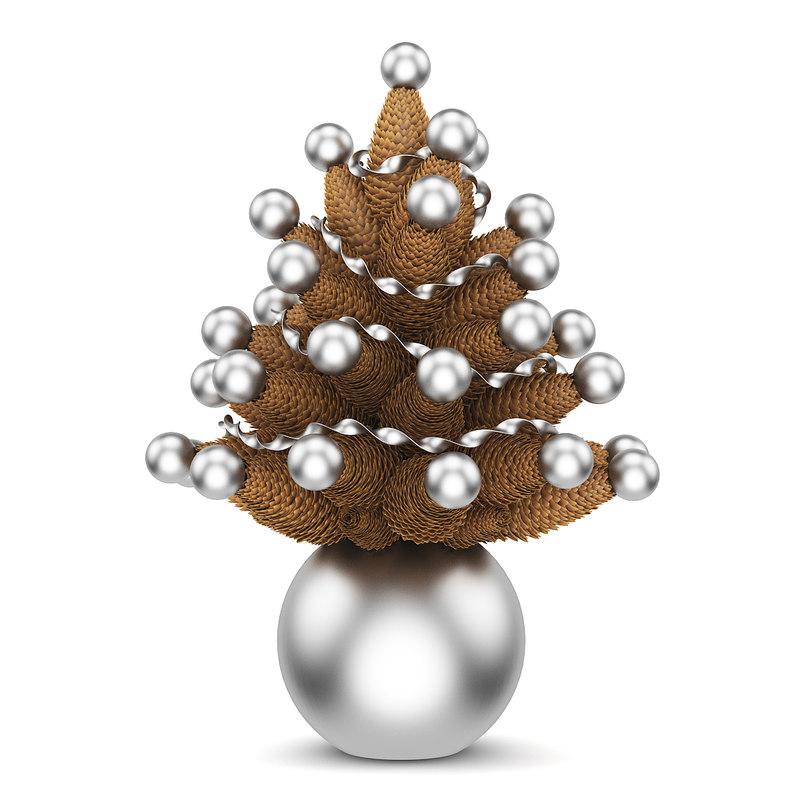 cone christmas 3d model