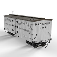 maya narrow gauge refrigerator car