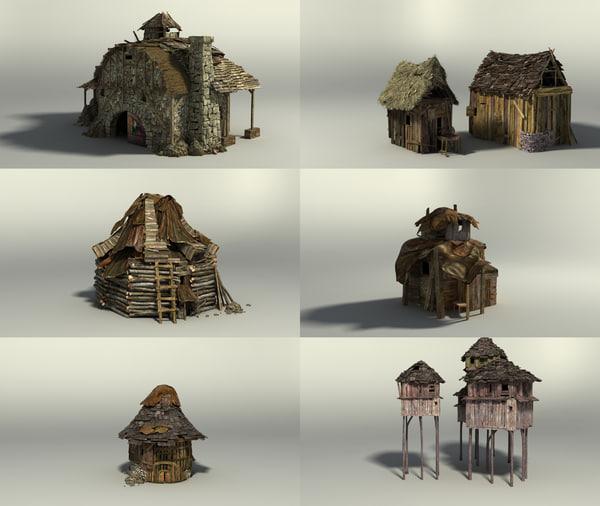 shack 3d max