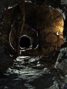 cave 3d max