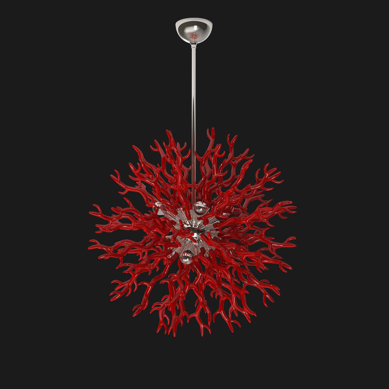3d diallo large chandelier