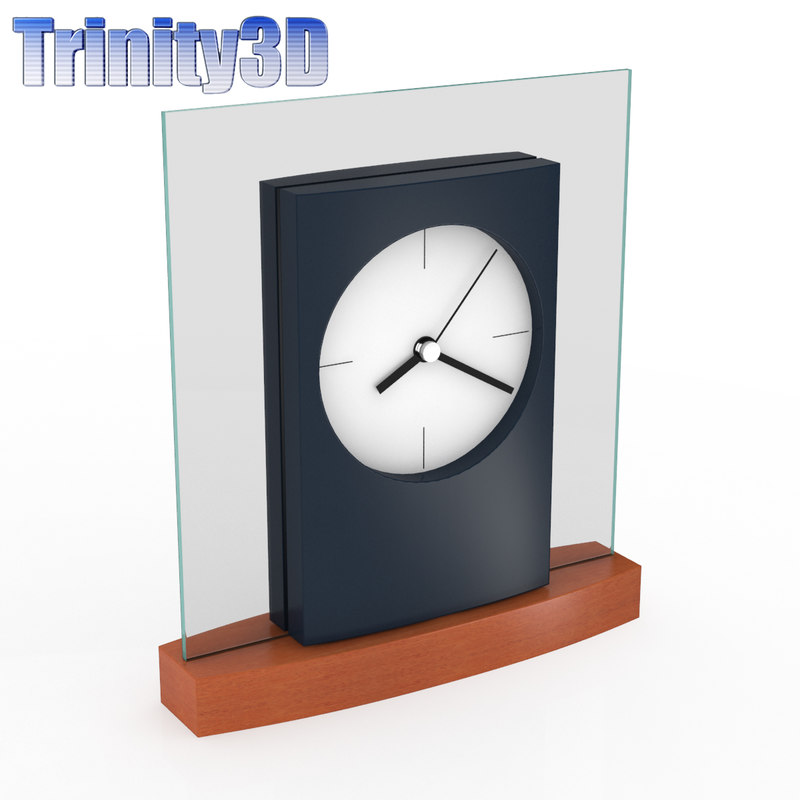 3ds max desk clock