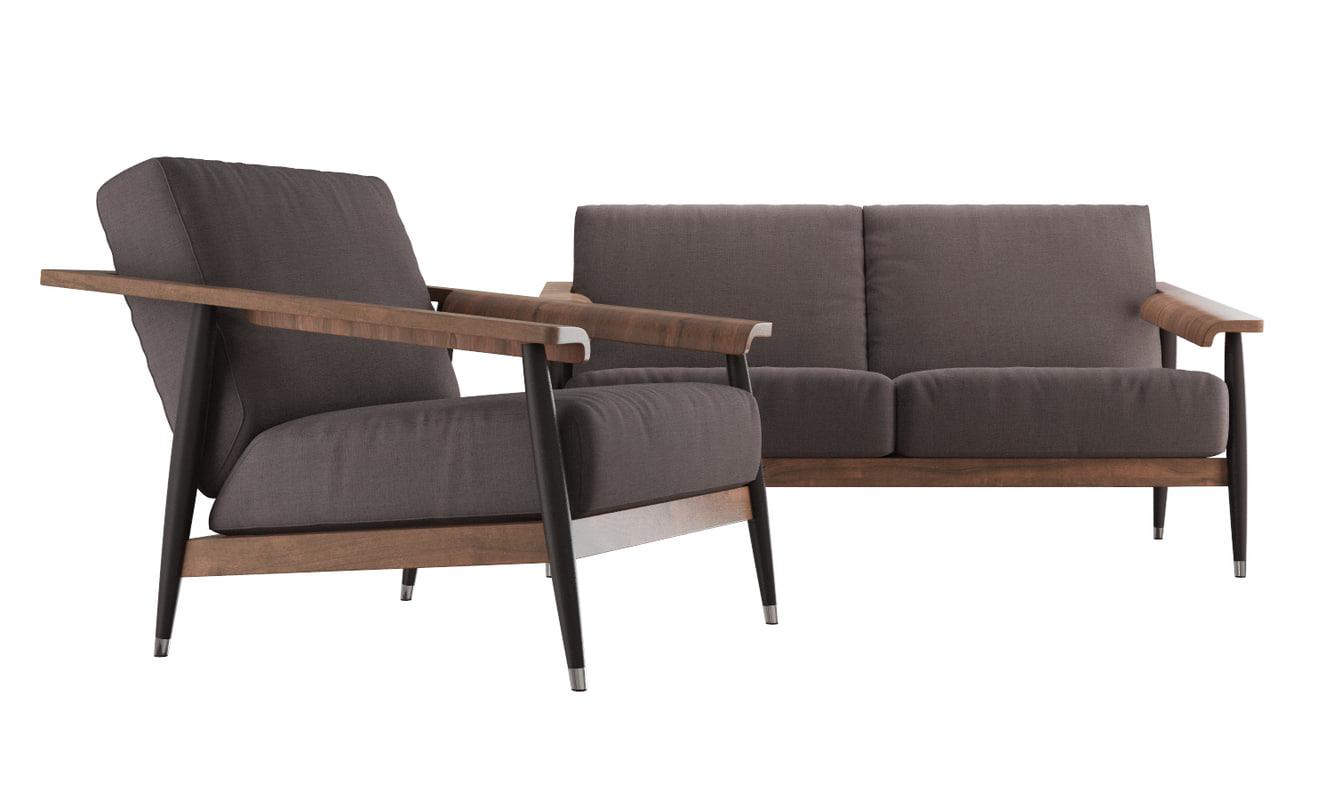 Dowel Sofa Armchair Max