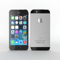 3d model iphone 5s
