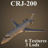 3d model regional jet 2
