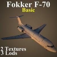 3d model of 2 basic
