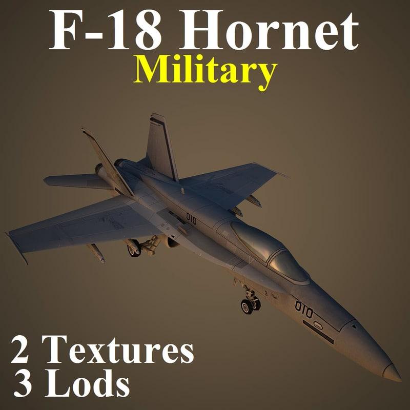 3d boeing military mil fighter model