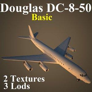 douglas basic 3d model