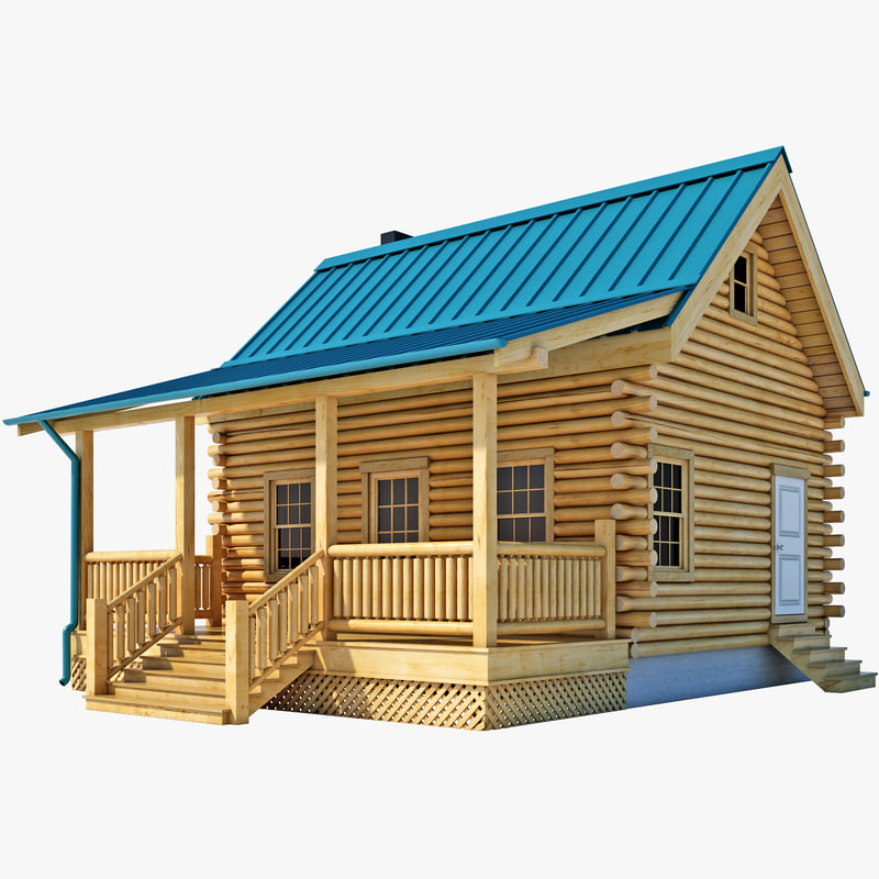 Build It 3d Home Design Software: 3d Log Cabin House