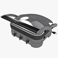 panini press cuisinart max