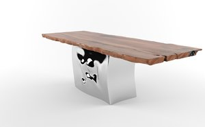 3ds max riflessi table riva1920