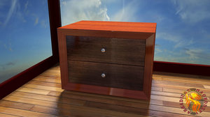 3d model cabinet drawers
