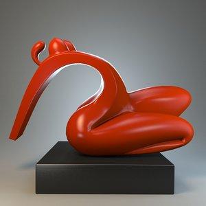female sculpture forms max