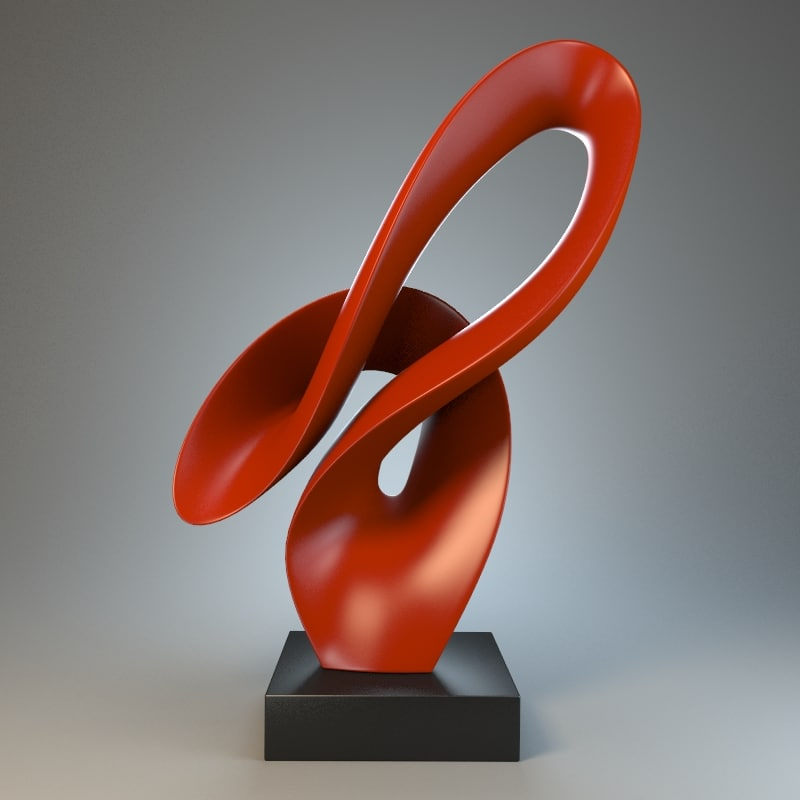 obj sculpture splash