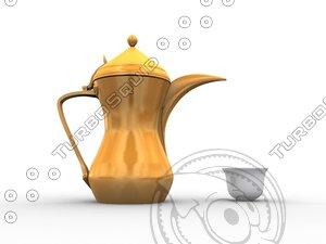 3ds max dallah coffee arab