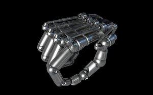 c4d hand control robotic xpresso