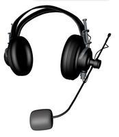 c4d headphones helicopter