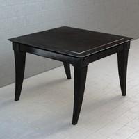restoration hardware klismos square side table