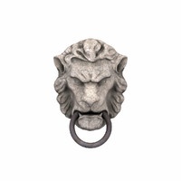 lion head door 3d model