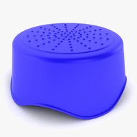 plastic step stool 3d 3ds