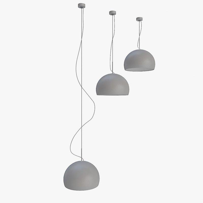 ceiling lamp prandina biluna 3d max