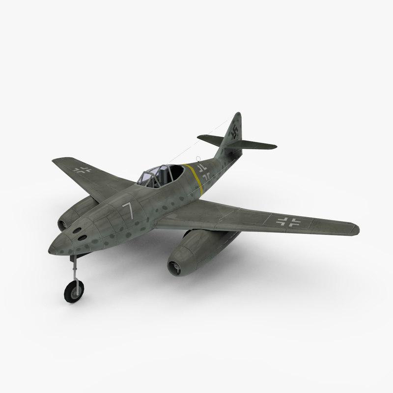 3d messerschmitt 262