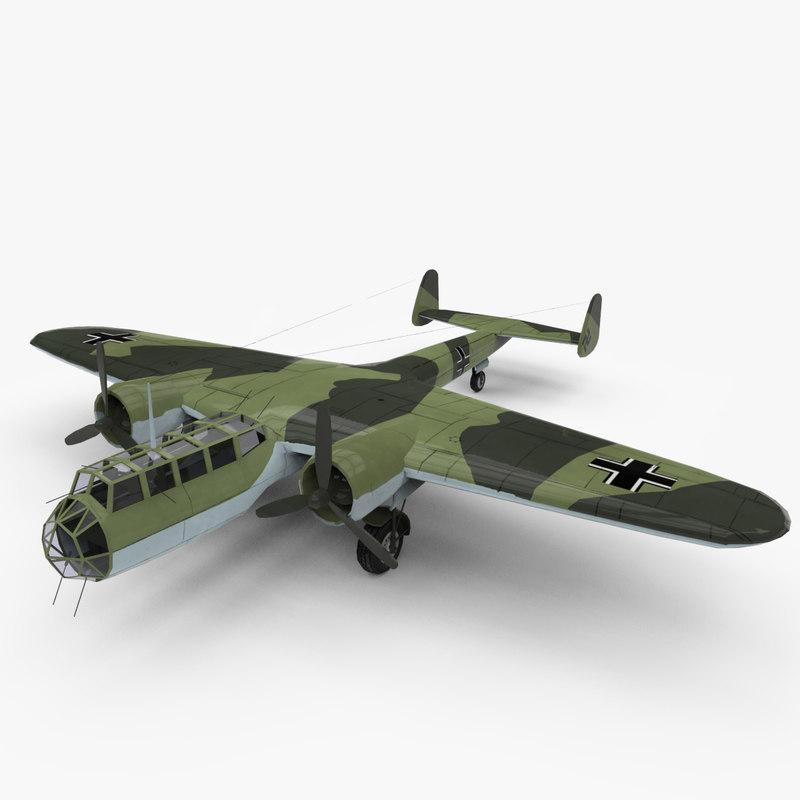 3d model dornier 17