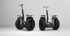 3d segway x2 adventure solidworks model