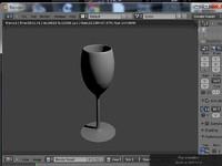 3ds wine glass